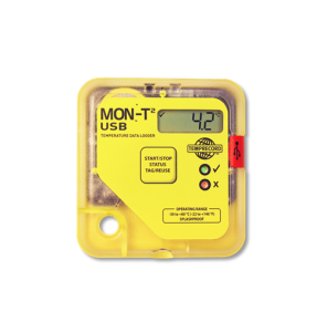 Mon-T2 temperature logger with LCD screen and USB