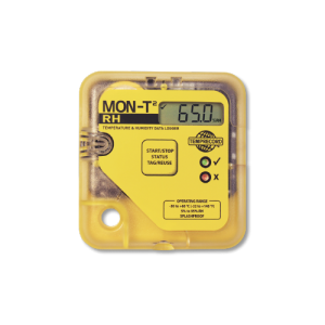 Temprecord low cost logistics Mon-T2 RH data logger