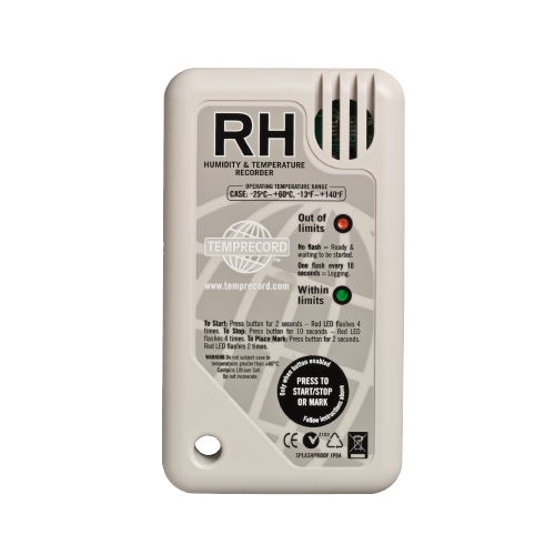 RH Temperature logger from Temprecord