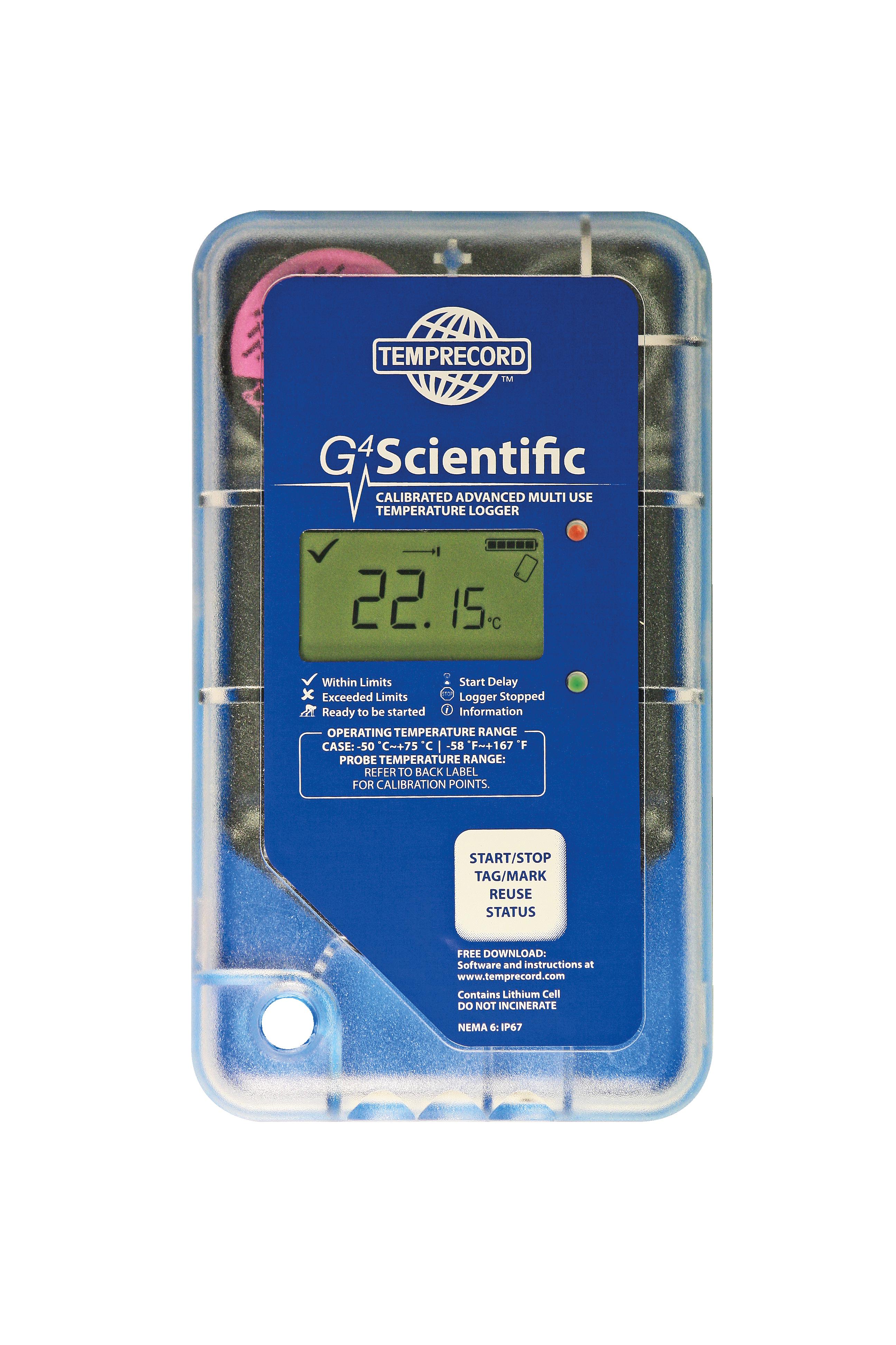 G4 Scientific Data Logger