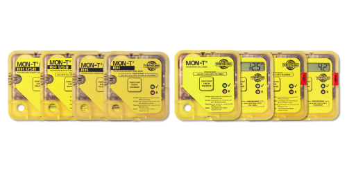 Range of Mon-T2 cheap data loggers